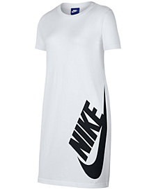 Nike Big Girls Sportswear Cotton T-Shirt Dress