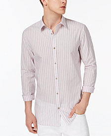 Calvin Klein Men's Washed Stripe Shirt
