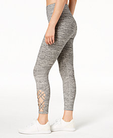 Calvin Klein Performance High-Rise Strappy Opaque Leggings