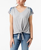9911e1bc847fe womens embroidered tops - Shop for and Buy womens embroidered tops ...