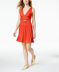 Free People King Of My Heart A-Line Mini Dress