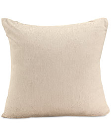 "Berkshire Bunnysoft 18"" Square Faux-Fur Decorative Pillow"
