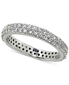 Giani Bernini Cubic Zirconia Stackable Pavé Band, Created for Macy's