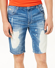 A|X Armani Exchange Men's 5-Pocket Denim Stretch Shorts