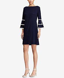 American Living Bell-Sleeve Shift Dress