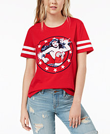 Hybrid Juniors' Wonder Woman Graphic-Print T-Shirt