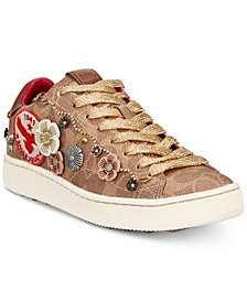 COACH C101 Signature Eagle Squad Sneakers