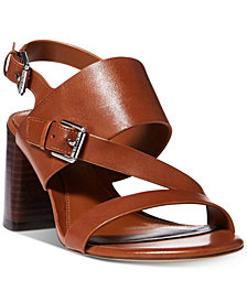 Lauren Ralph Lauren Florin Block-Heel Dress Sandals