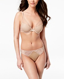 INC Sexy Lift Bra & Smooth Lace Thong, Created for Macy's