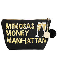 Bow & Drape Money Manhattan Pouch