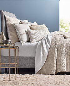 Hotel Collection Honeycomb Queen Coverlet, Created for Macy's