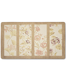 "Laura Ashley Flower Seeds Anti-Fatigue Gelness 20"" x 32"" Kitchen Mat"