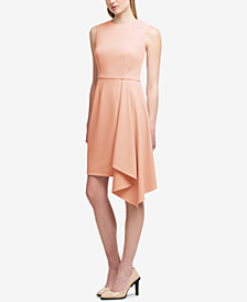 DKNY Asymmetrical Sheath Dress, Created for Macy's