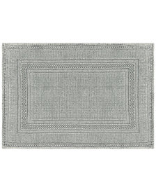 Jean Pierre Racetrack Cotton Stonewash Bath Rugs