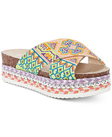 Jessica Simpson Shanny Flatform Slide Sandals