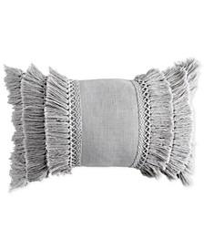 "Home 12"" x 18"" Fringe Decorative Pillow"
