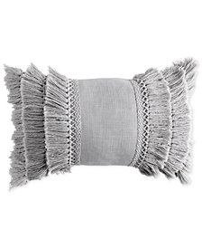 "Peri Home 12"" x 18"" Fringe Decorative Pillow"