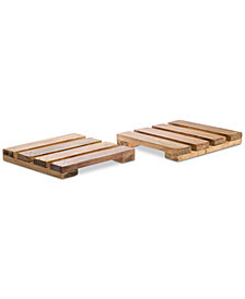 Tabletops Unlimited, Set Of 2 Palette Trivets