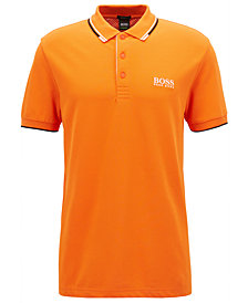 BOSS Men's Regular/Classic-Fit Piqué Stretch Polo Shirt