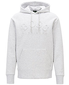 BOSS Men's Relaxed-Fit Embossed Logo Sweatshirt