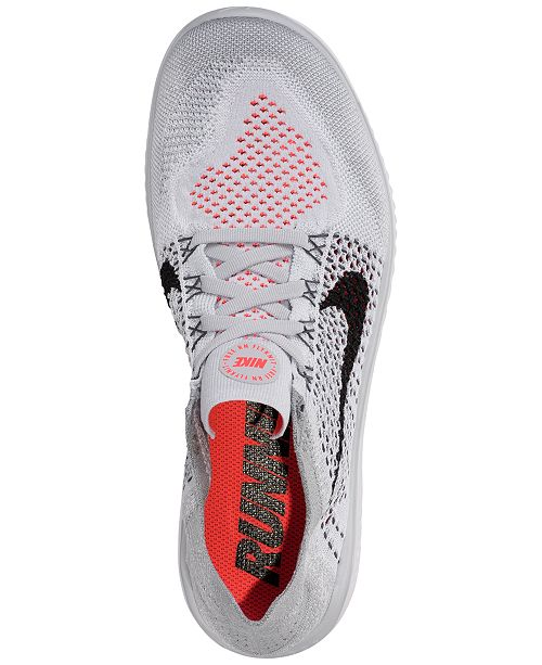 f324f602fefa ... Nike Men s Free Run Flyknit 2018 Running Sneakers from Finish Line ...