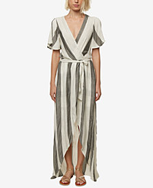 O'Neill Juniors' Marybeth Wrap Maxi Dress