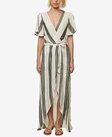 O'Neill Juniors' Marybeth Wrap Maxi Dress