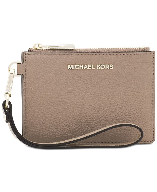 873c1daa98e851 Michael Kors Pebble Leather Coin Purse & Reviews - Handbags ...