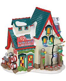 Department 56 Villages Twinkle Brite Tree Factory