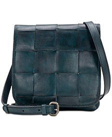 Patricia Nash Woven Granada Crossbody, Created for Macy's