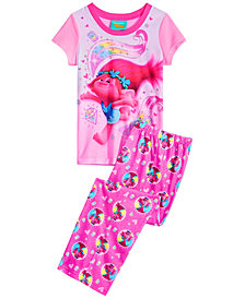 Trolls by DreamWorks Little & Big Girls 2-Pc. Poppy Pajama Set