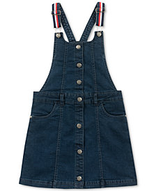 Tommy Hilfiger Big Girls Seamed Denim Skirtall