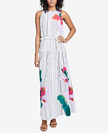 RACHEL Rachel Roy Amalfi Printed Maxi Dress, Created for Macy's