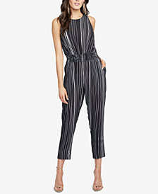 RACHEL Rachel Roy Lucia Striped Jumpsuit, Created for Macy's