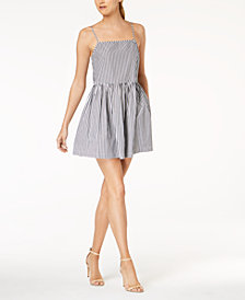 French Connection Sardinia Cotton Babydoll Dress