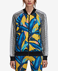 adidas Originals Print-Blocked Track Jacket
