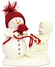 Department 56 Snowbabies Winding It Up Figurine