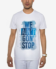 Sean John Men's We Ain't Gon' Stop Graphic T-Shirt