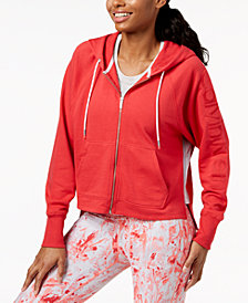 Calvin Klein Performance Relaxed Cropped Hoodie