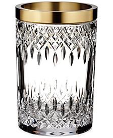 "Lismore Reflection with Gold Band 8"" Vase"