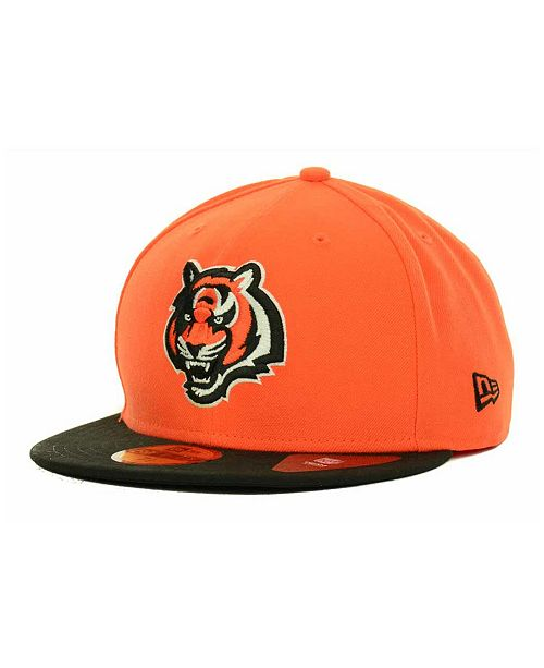 681914fb5 New Era Cincinnati Bengals NFL 2 Tone 59FIFTY Fitted Cap - Sports ...