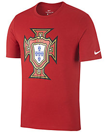 Nike Men's Portugal National Team Crest T-Shirt