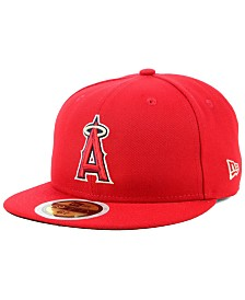 New Era Boys' Los Angeles Angels Authentic Collection 59FIFTY FITTED Cap