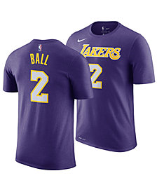 Nike Men's Lonzo Ball Los Angeles Lakers Statement Player T-Shirt