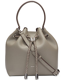DKNY Alice Drawstring Shoulder Bag, Created for Macy's