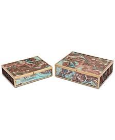 Mundi Boxes, Set of 2