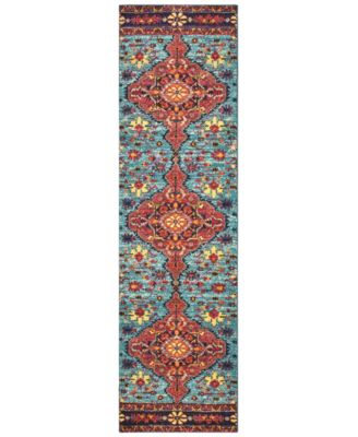 "CLOSEOUT! Archive Ives 2' 7"" x 10' 0"" Runner"