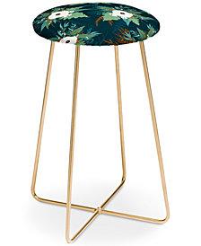 Deny Designs Iveta Abolina Isabella Garden Counter Stool
