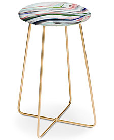 Deny Designs Laura Fedorowicz Dainty Abstract Counter Stool