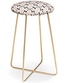 Deny Designs Marta Barragan Camarasa Mosaic pattern Counter Stool